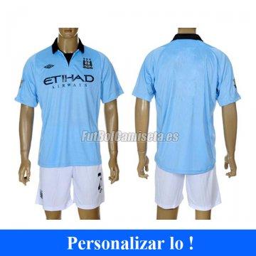 Camiseta Manchester City 1 Equipacion con pantalones 2012-13 .image.360x360